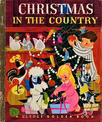 Christmas in the Country [A Little Golden #95] (1950) by Barbara Collyer [eBook]
