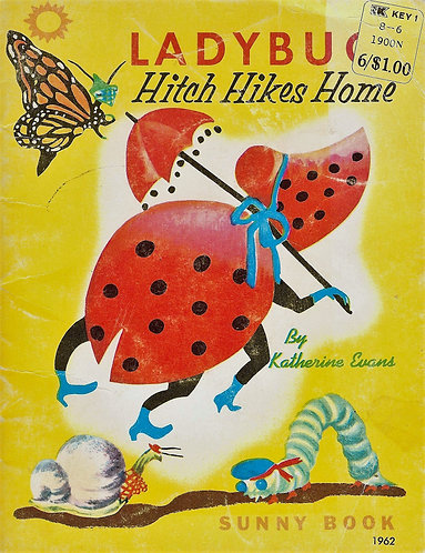 Ladybug Hitch Hikes Home (1968) by Katherine Evans [eBook]