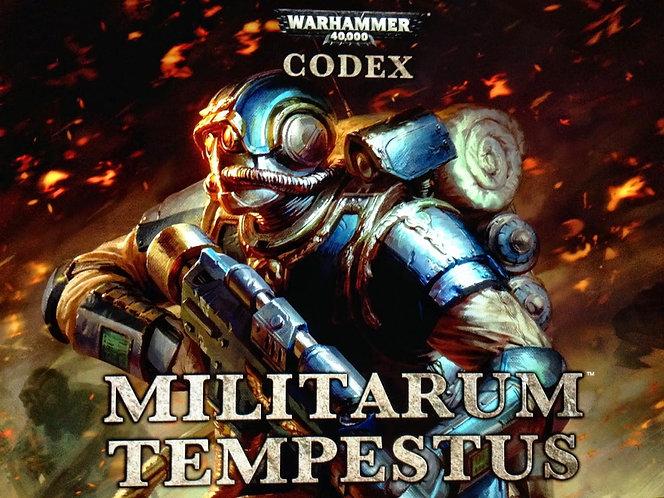 Warhammer Codex: Militarum Tempestus by Games Workshop Guide [eBook]