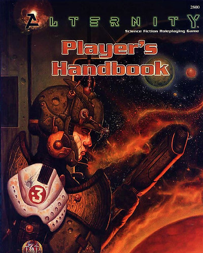 Alternity Player's Handbook (Sci-Fi RPG Roleplaying, Core Rule Book, 2800) [PDF]