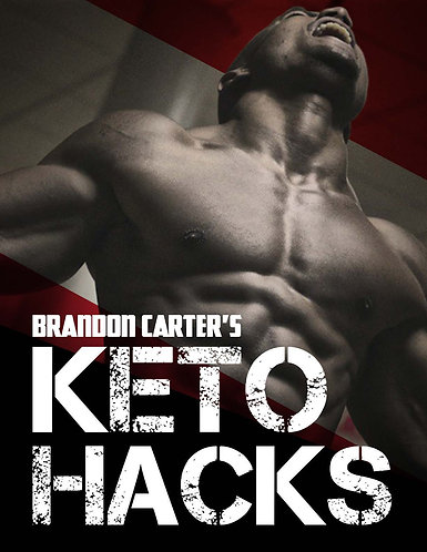 The Keto Cookbook & Supplement Guide + Restaurant Hacks by Brandon Carter