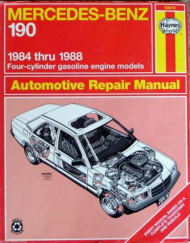Mercedes Benz Model 190 (1984-88) Haynes 63015 Automotive Repair Manual [PDF]