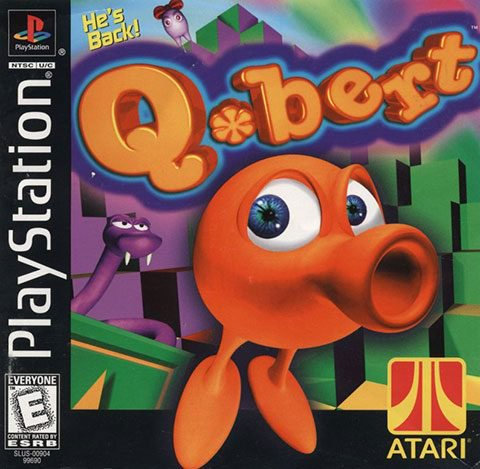 Q Bert - PlayStation One 1 PSX Video Game ROM [ISO]