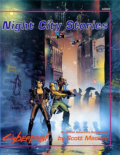 Cyberpunk 2020 Night City Stories: An Adventure Game Supplement AG505 [PDF]