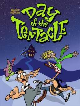 Maniac Mansion II: Day of the Tentacle (Game) Ez Click Install & Play for Window