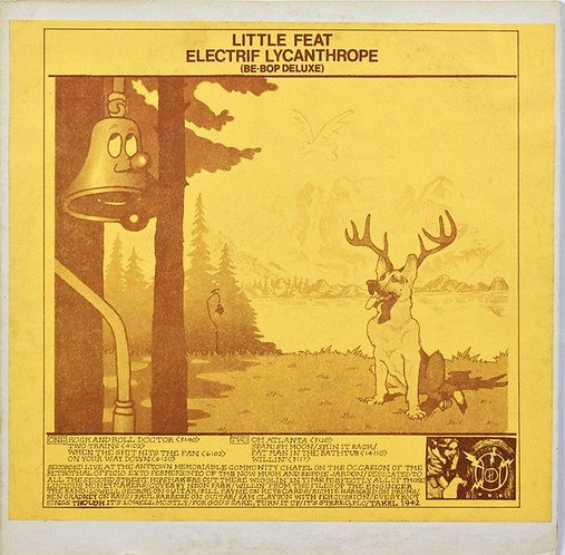 Little Feat Electric Lycanthrope - Live Album in Hempstead, NY (1975) [MP3 320]