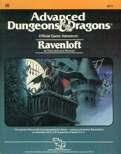 Ravenloft I6 (Advanced Dungeons & Dragons Official Game Adventure #9075) [eBook]