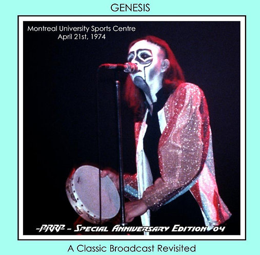 Genesis - Live in Montreal Canada April 21st, 1974 [Remastered FM Master] [D/L]