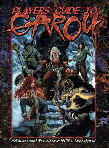 Players Guide to the Garou (Werewolf the Apocalypse) by White Wolf [Sourcebook]