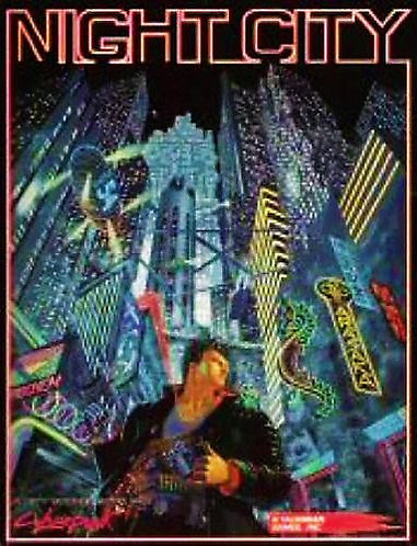 The Night City Guide (Cyberpunk 2020 RPG Sourcebook CP3501) Colin Fisk [Digital]