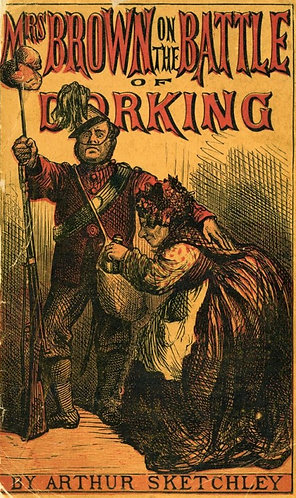 Mrs Brown on The Battle of Dorking (1871) by Arthur Sketchley [eBook]