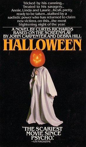 Halloween: The Movie Novel by Curtis Richards, John Carpenter & Debra Hill