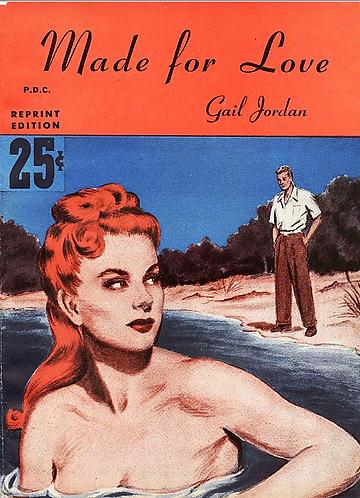 Made For Love (1948) by Gail Jordan (Complete Knickerbocker Romance Novel) [PDF]