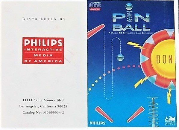 Philips CD-i Disc Interactive Video Game PINBALL [ISO ROM Download]