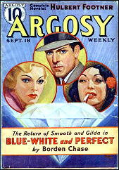 Blue White and Perfect by Borden Chase (Complete Pulp Novel) [eBook]