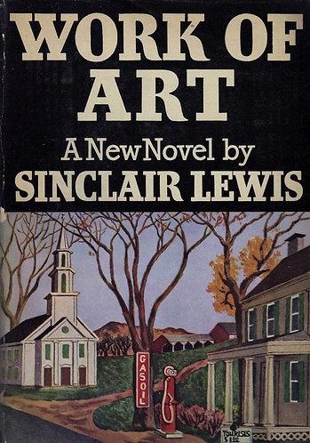 Work of Art (1934) by Sinclair Lewis [eBook]