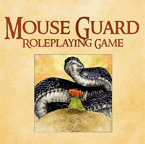 Mouse Guard Roleplaying Game by David Petersen [RPG Player's Guide] [eBook]