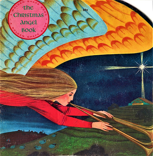 The Christmas Angel Book by William Dugan (1965) Golden [Digital]