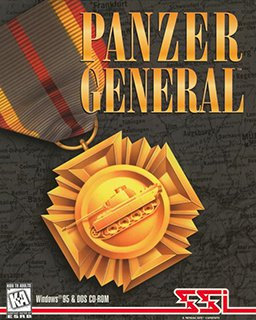 PANZER GENERAL by SSI Original Video Game - Ez Click Install & Play for Windows