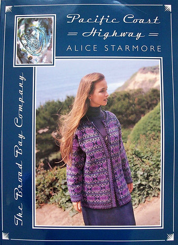 Pacific Coast Highway by Alice Starmore (Hand Knitting Patterns Designs) [PDF]