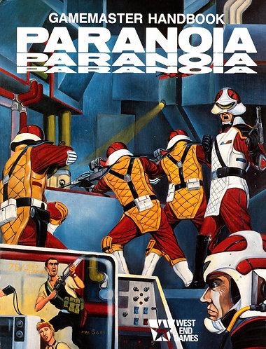 Paranoia (1e) Gamemaster Handbook by Daniel Gelber (1984) RPG Manual Guide [PDF]