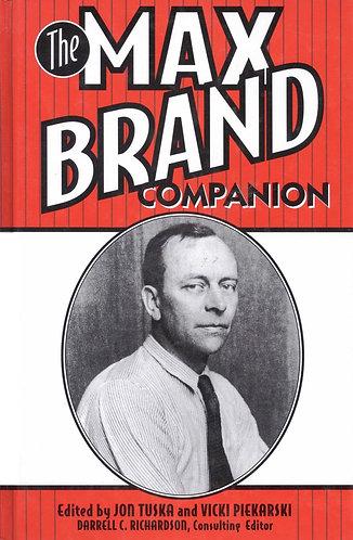 The Max Brand Companionby Darrell C. Richardson [eBook]