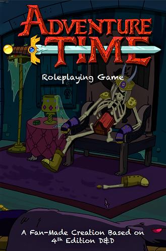Adventure Time Roleplaying Game Handbook [Digital]