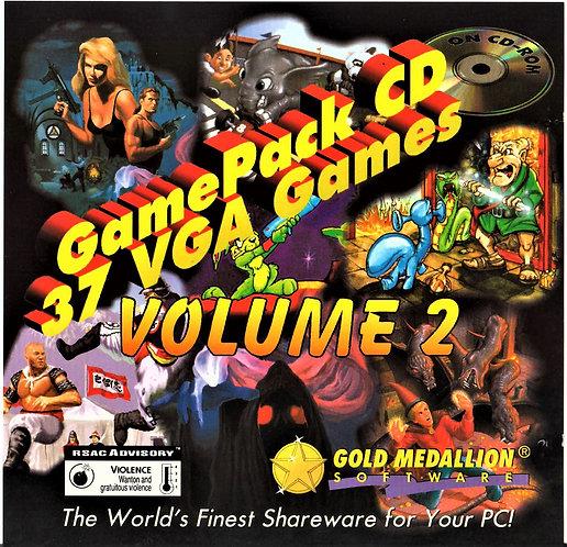 GamePack Volume 2 - 37 Vintage DOS VGA Video Games (PC ROM) [ISO]