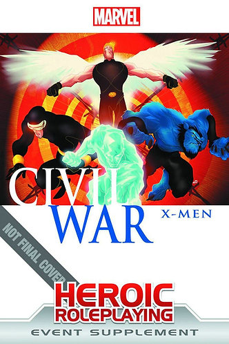 Marvel Heroic Roleplaying Civil War  X-Men [RPG Game Event Supplement Adventure]