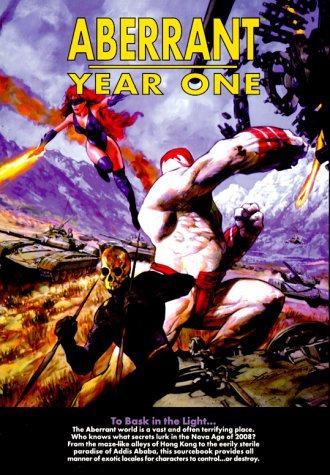 Aberrant: Year One (White Wolf 8502) by John Snead - RPG Game Adventure [PDF]