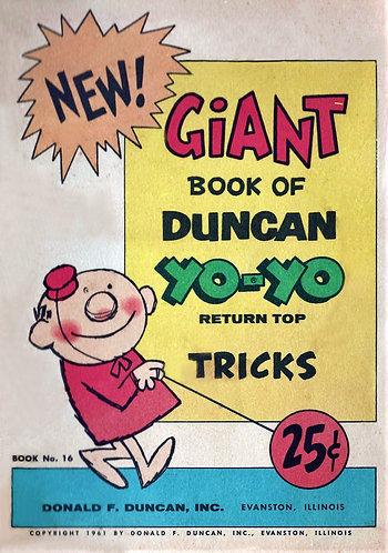The Giant Book of Duncan Yo-Yo Return Top Tricks
