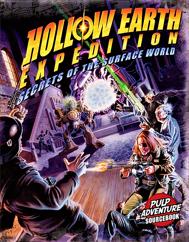 Secrets of the Surface World RPG (Hollow Earth Expedition) [PDF]