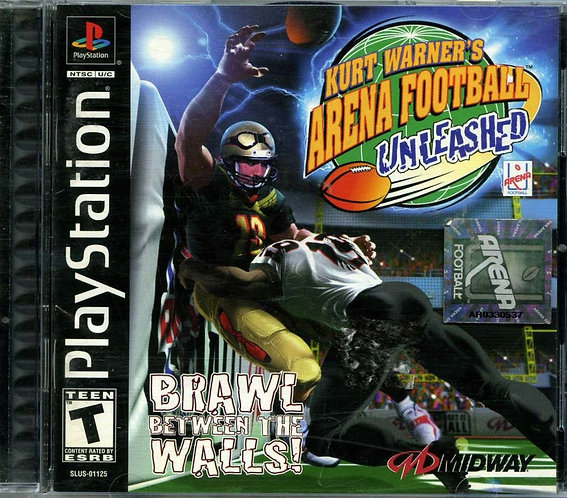 Kurt Warner's Arena Football Unleashed (Playstation 1 One Game) [ISO]
