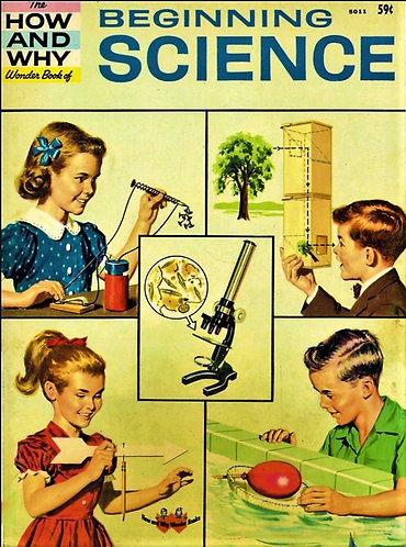 The How And Why Wonder Book Series #5011 Beginning Science (1960) [PDF]