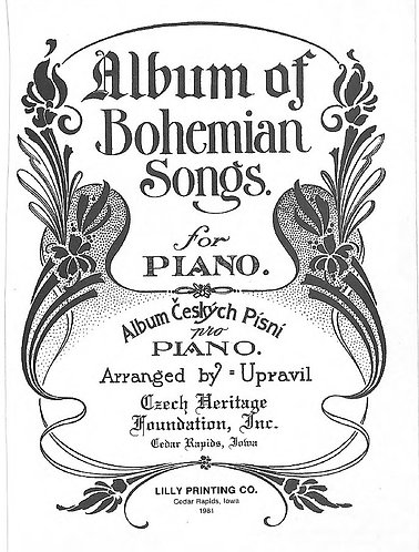 An Album of Bohemian Songs for Piano (Czech Heritage Foundation) Sheet Music PDF