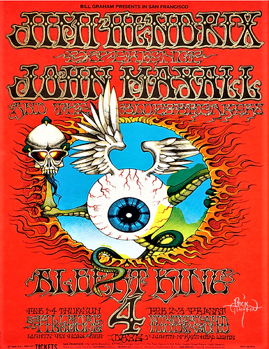 A Collection of Psychedelic Concert Posters [eBook]