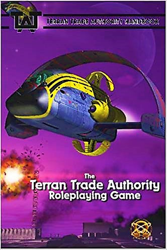 The Terran Trade Authority Roleplaying Game Core Rulebook Guide (RPG) [PDF]