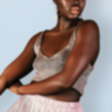 Model with Beautiful Dark Skin