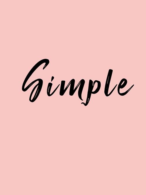 Simple Designers Choice Burlap Wrapped Bouquet