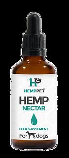 HEMP PET_BOTTLE_OIL NECTAR for DOGS.png