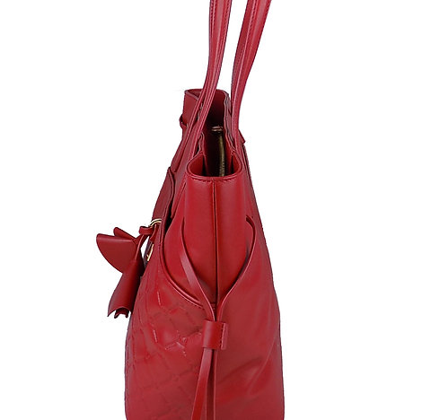 Guess borsa donna Luxe HWCLLOL8424 Rosso 34 x 29 x 16 cm.