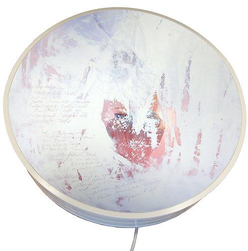 """""""Windhauch"""" Leuchtobjekt, 50cm Durchmesser"""