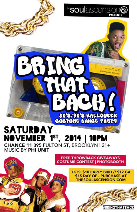 Bring That Back Flyer