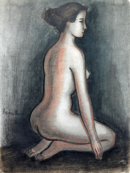 Buy art Buy art online Pierre Devos Original work on paper Signed Affordable Europe Belgium Brussels Ghent