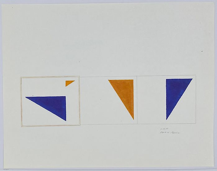 Buy art Buy art online Bruce Boice Original work on paper Abstract Signed Dated Affordable Europe Brussels Ghent Belgium
