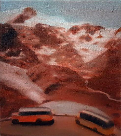 Buy art Buy art online Erwin van Krey Original work on canvas Painting Signed Affordable Europe Belgium Ghent Brussels