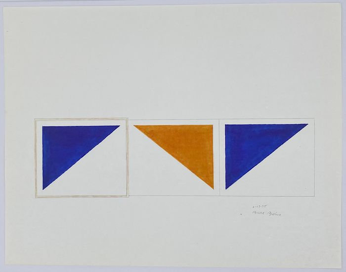 Buy art Buy art online Bruce Boice Original work on paper Affordable Abstract Signed Dated Europe Belgium Brussels Ghent