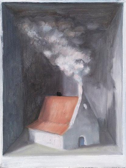 Buy art Buy art online Joost Gevaert Painting Original work on panel Signed Affordable Europe Belgium Brussels Ghent