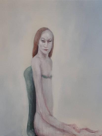 Buy art Buy art online Dorien Plaat Painting Original work on canvas Signed Affordable Europe Belgium Brussels Ghent