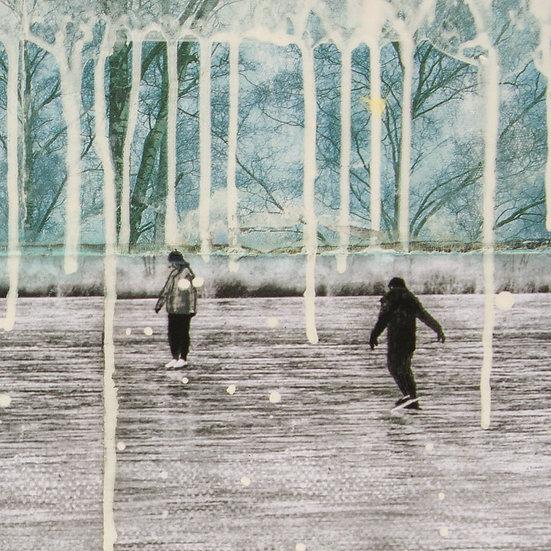 Buy art Buy art online db Waterman Original work on paper Painting Affordable Signed Europe Belgium Brussels Ghent Antwerp